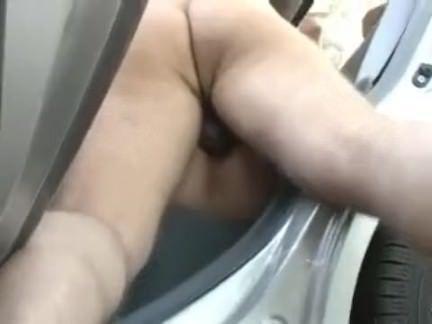Anal no carro