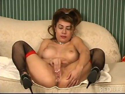Latina se masturbando