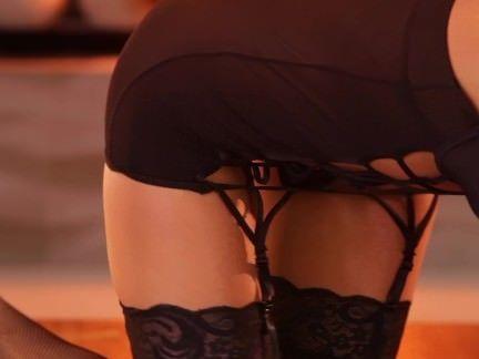 Loira sensualizando no porno
