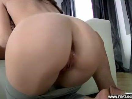 O primeiro anal da vadia