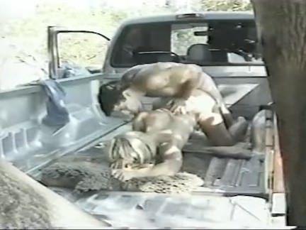 Sexo amador na pickup