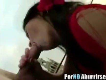 Sexo oral da loirona